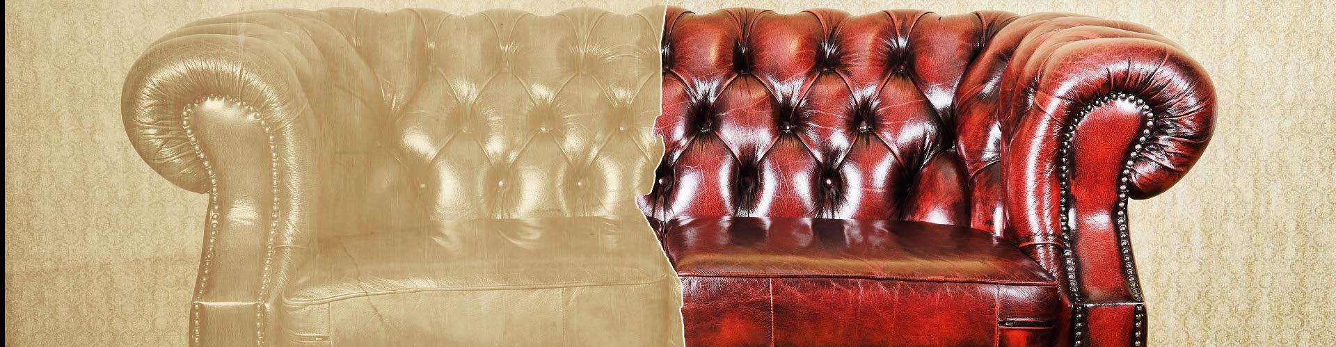 Prodotti pulizia e cura di pelle e cuoio - Tintura per pelle divano ...